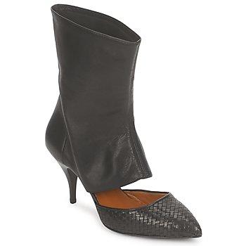 Παπούτσια Γυναίκα Μποτίνια Stéphane Kelian IVAN Black