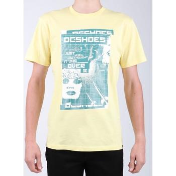 Υφασμάτινα Άνδρας T-shirt με κοντά μανίκια DC Shoes DC SEDYZT03769-YZL0 yellow