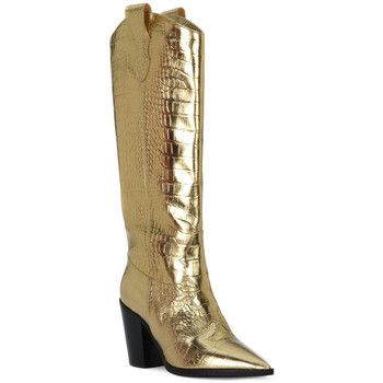 Παπούτσια Γυναίκα Μπότες για την πόλη Priv Lab COCCO ORO Beige