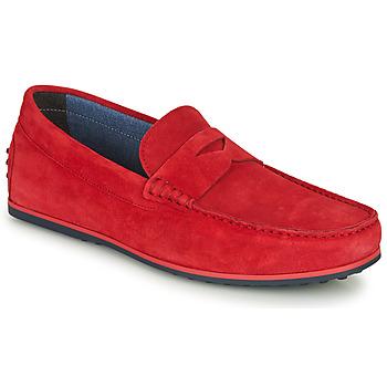 Παπούτσια Άνδρας Μοκασσίνια André SKY Red