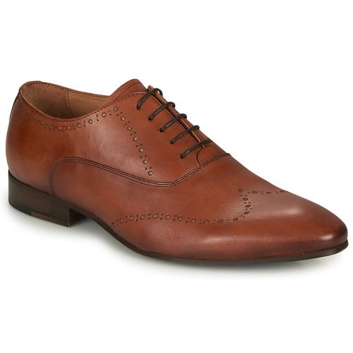 Παπούτσια Άνδρας Richelieu André DOWNTOWN Cognac