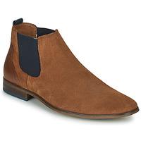 Παπούτσια Άνδρας Derby André WALOU Cognac