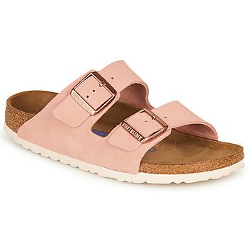 Παπούτσια Γυναίκα Τσόκαρα Birkenstock ARIZONA SFB LEATHER Ροζ