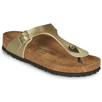 Παπούτσια Γυναίκα Σαγιονάρες Birkenstock GIZEH Gold