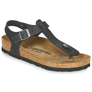 Παπούτσια Γυναίκα Σανδάλια / Πέδιλα Birkenstock KAIRO LEATHER Black