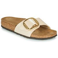 Παπούτσια Γυναίκα Τσόκαρα Birkenstock MADRID BIG BUCKLE  graceful / Pearl / Ασπρό