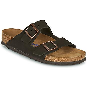 Παπούτσια Άνδρας Τσόκαρα Birkenstock ARIZONA SFB LEATHER Brown