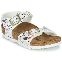 Παπούτσια Κορίτσι Σανδάλια / Πέδιλα Birkenstock RIO Άσπρο / Multicolour
