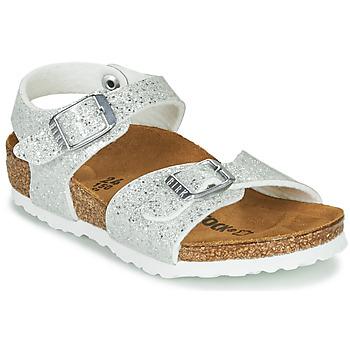 Παπούτσια Κορίτσι Σανδάλια / Πέδιλα Birkenstock RIO PLAIN Άσπρο