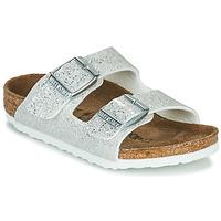 Παπούτσια Κορίτσι Τσόκαρα Birkenstock ARIZONA Άσπρο / Argenté