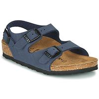 Παπούτσια Αγόρι Σανδάλια / Πέδιλα Birkenstock ROMA Marine
