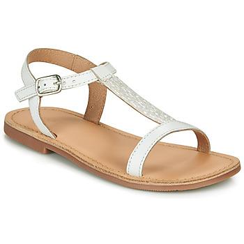 Παπούτσια Κορίτσι Σανδάλια / Πέδιλα André ASTRID Άσπρο