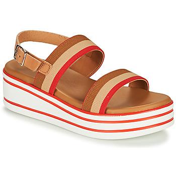 Παπούτσια Κορίτσι Σανδάλια / Πέδιλα André MAIWENN Brown