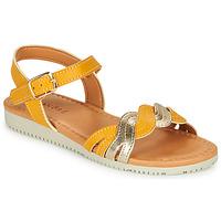 Παπούτσια Κορίτσι Σανδάλια / Πέδιλα André TRESSIA Yellow