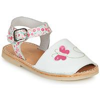 Παπούτσια Κορίτσι Σανδάλια / Πέδιλα André SILENA Άσπρο