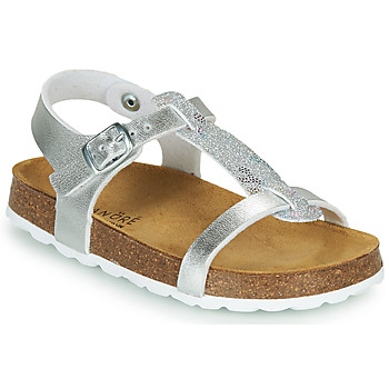 Παπούτσια Κορίτσι Σανδάλια / Πέδιλα André SYLVIE Silver