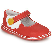 Παπούτσια Κορίτσι Μπαλαρίνες André PAQUERETTE Red