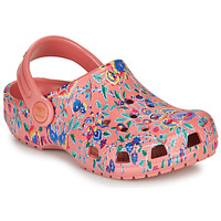 Παπούτσια Γυναίκα Σαμπό Crocs LIBERTY LONDON X CLASSIC LIBERTY GRAPHIC CLOG K Ροζ