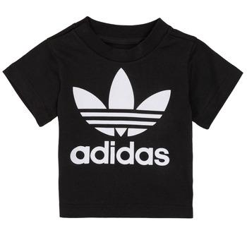 Υφασμάτινα Παιδί T-shirt με κοντά μανίκια adidas Originals MARGOT Black