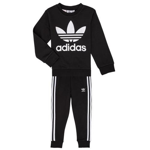 Υφασμάτινα Παιδί Σετ adidas Originals LOKI Black
