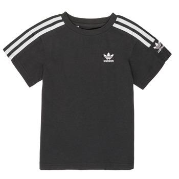 Υφασμάτινα Αγόρι T-shirt με κοντά μανίκια adidas Originals MINACHE Black