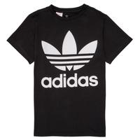 Υφασμάτινα Παιδί T-shirt με κοντά μανίκια adidas Originals MAXENCE Black