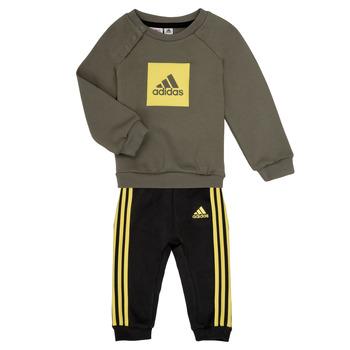 Υφασμάτινα Αγόρι Σετ adidas Performance MERLO Grey / Yellow