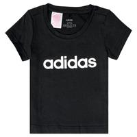 Υφασμάτινα Κορίτσι T-shirt με κοντά μανίκια adidas Performance NATRAZ Black