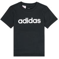 Υφασμάτινα Αγόρι T-shirt με κοντά μανίκια adidas Performance NATAZO Black