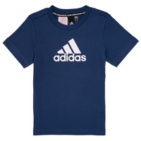 Υφασμάτινα Αγόρι T-shirt με κοντά μανίκια adidas Performance BRIAN Marine
