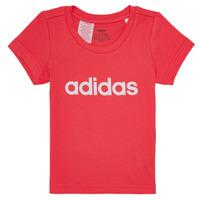 Υφασμάτινα Κορίτσι T-shirt με κοντά μανίκια adidas Performance MAKIT Ροζ