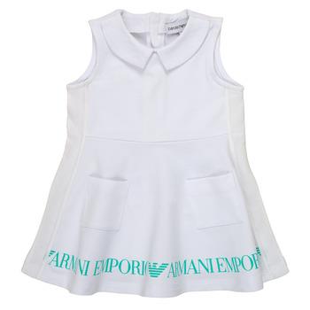 Υφασμάτινα Κορίτσι Κοντά Φορέματα Emporio Armani Apollinaire Άσπρο