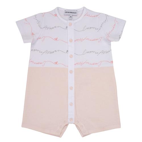 Υφασμάτινα Κορίτσι Ολόσωμες φόρμες / σαλοπέτες Emporio Armani Adem Ροζ
