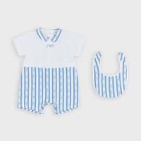 Υφασμάτινα Αγόρι Ολόσωμες φόρμες / σαλοπέτες Emporio Armani Adam Μπλέ