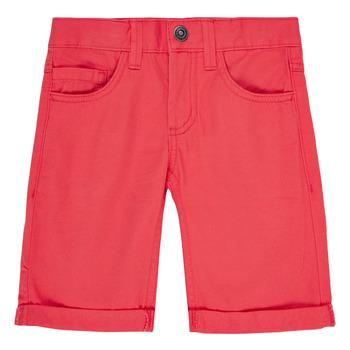 Υφασμάτινα Αγόρι Σόρτς / Βερμούδες Name it NKMSOFUS TWIISAK Red
