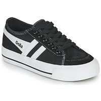 Παπούτσια Παιδί Χαμηλά Sneakers Gola QUOTA II Black / Άσπρο