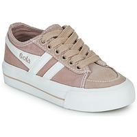 Παπούτσια Παιδί Χαμηλά Sneakers Gola QUOTA II Ροζ / Άσπρο