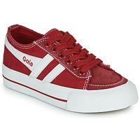 Παπούτσια Παιδί Χαμηλά Sneakers Gola QUOTA II Red / Άσπρο