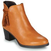 Παπούτσια Γυναίκα Μπότες André MARYLOU Camel