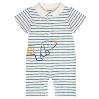 Υφασμάτινα Αγόρι Ολόσωμες φόρμες / σαλοπέτες Noukie's IMRAN Άσπρο
