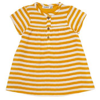Υφασμάτινα Κορίτσι Κοντά Φορέματα Noukie's YOUNES Yellow