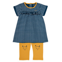 Υφασμάτινα Κορίτσι Κοντά Φορέματα Noukie's AYOUB Μπλέ / Yellow