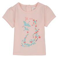 Υφασμάτινα Κορίτσι T-shirt με κοντά μανίκια Carrément Beau NOLAN Ροζ