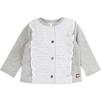 Υφασμάτινα Κορίτσι Μπουφάν / Ζακέτες Carrément Beau ISA Grey