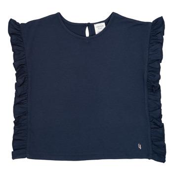 Υφασμάτινα Κορίτσι T-shirt με κοντά μανίκια Carrément Beau KAMILLIA Μπλέ