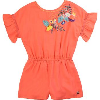 Υφασμάτινα Κορίτσι Ολόσωμες φόρμες / σαλοπέτες Carrément Beau DAVID Ροζ