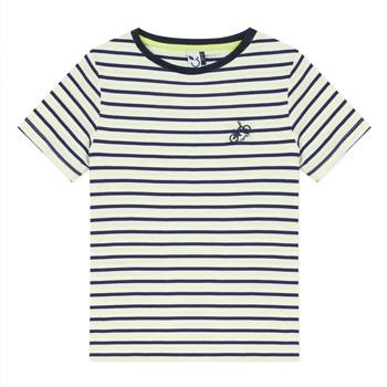 Υφασμάτινα Αγόρι T-shirt με κοντά μανίκια 3 Pommes NORDINE Yellow