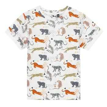 Υφασμάτινα Αγόρι T-shirt με κοντά μανίκια 3 Pommes ARIANE Orange