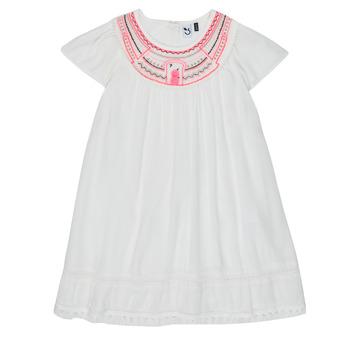 Υφασμάτινα Κορίτσι Κοντά Φορέματα 3 Pommes LAURA Άσπρο