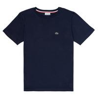 Υφασμάτινα Αγόρι T-shirt με κοντά μανίκια Lacoste KETLEEN Marine
